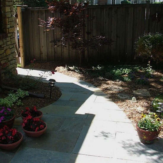 Landscaping - path