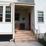 Exterior remodeling - stairs