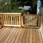 Custom deck - gate