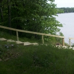Landscaping - stairs