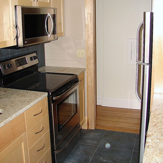 Kitchen remodeling - cabinets, appliances, counter tops & flooring