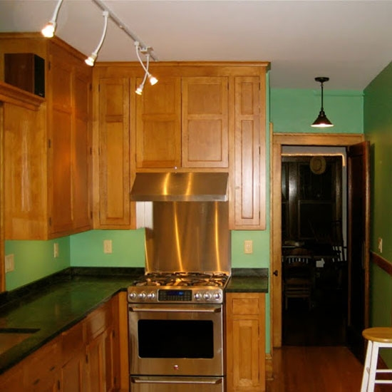 Kitchen remodeling - custom cabinetry, lighting, countertops & appliances