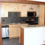 Kitchen remodeling - cabinets, appliances, flooring & lighting