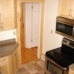 Kitchen remodeling - flooring, appliances & custom cabinetry