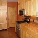Kitchen remodeling - custom cabinetry, appliances, counter tops, flooring & tile back splashing