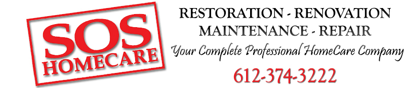 Home Remodeling & Restoration | Minneapolis | SOS Homecare